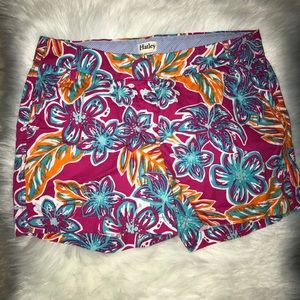 Harley women's floral shorts